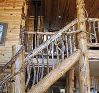 Carved Wood Stair Rails and Banisters