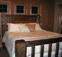 Rustic Wood Bed Frames